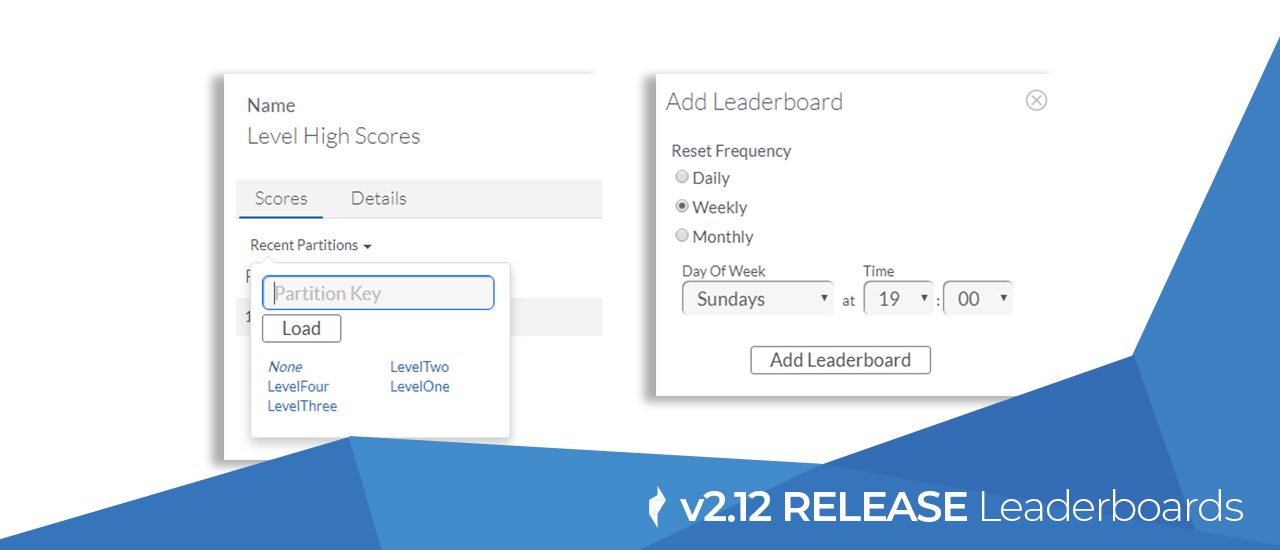 New Features | Leaderboard Partitions and Resets