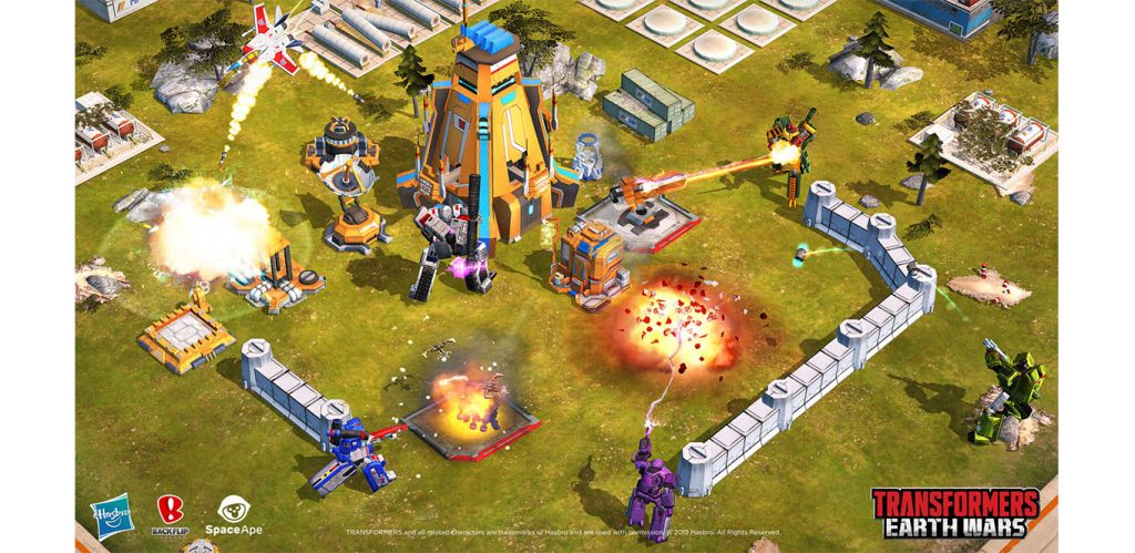 What is ChilliConnect Live Game Management Screenshot from Transformers Earth Wars Space Ape Games using Live Ops 1